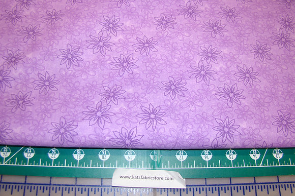 "108"" Batik Floral Lilac 800"