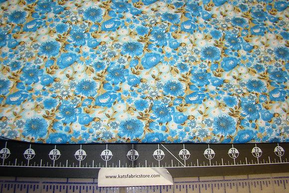 Quilter Calicos 348 Blue