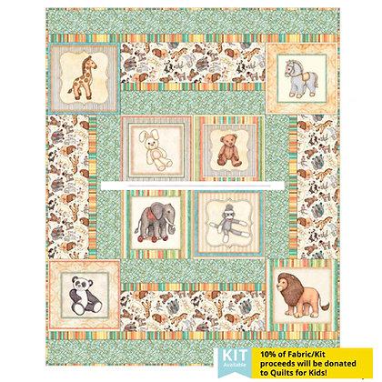 QT Quilts for Kids Toyland Panel Quilt Kit