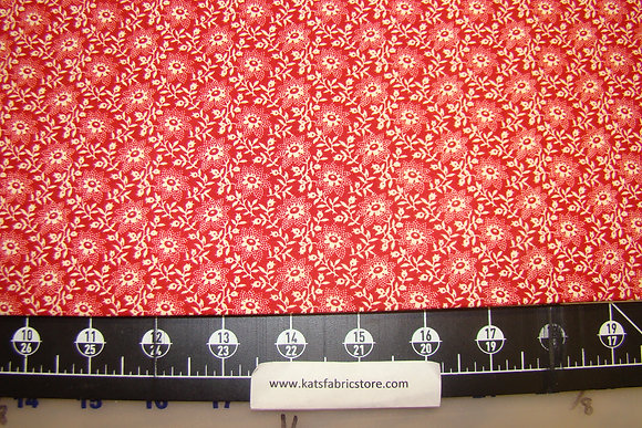 Washington Signature Floral Red