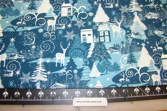 HLDY Winter Scenic Blue
