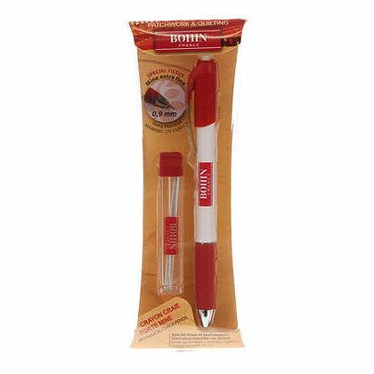 Bohin Mechanical Pencil .9mm White # 91473