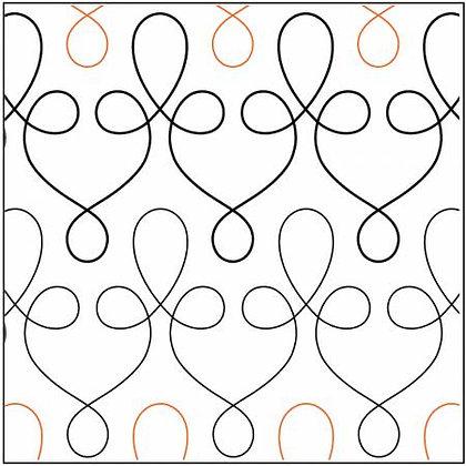 Paper Pantograph 5in Filigree Pantograph # UER-1232