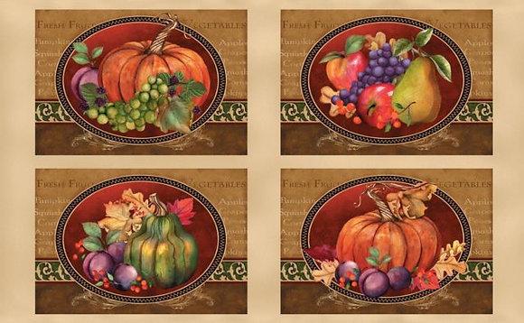 Thankful Harvest Place Mats