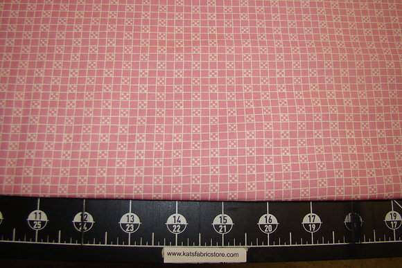 Treasures from the Attic Checker Pink