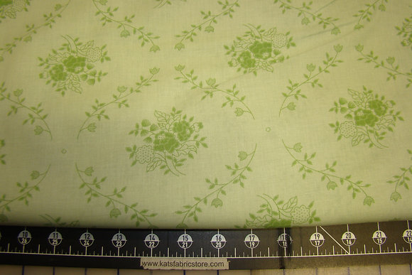 """108"""" Floral Patch Lime Backing"""