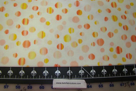 BX Patio Splash Rainbow Dot Cream