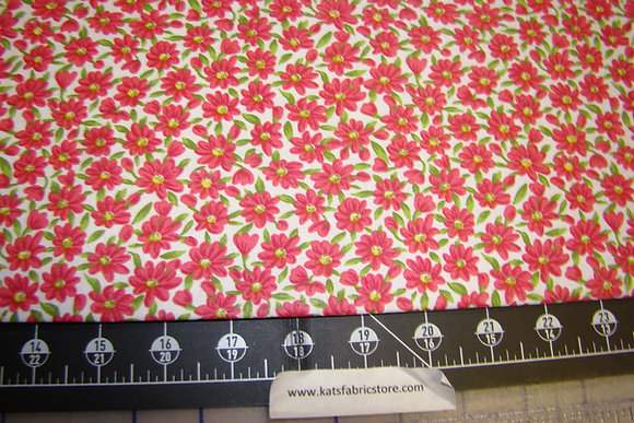 Quilter Calicos 379 Red