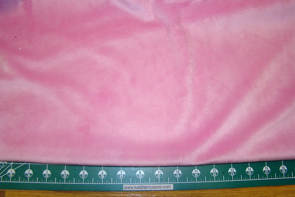 Snuggle Smooth Velour Minky Pink