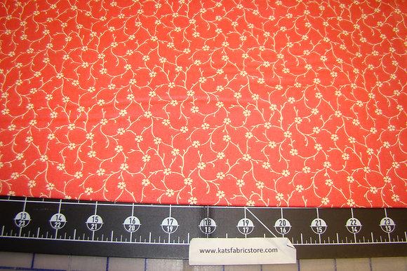 Quilter Calicos 338 Orange