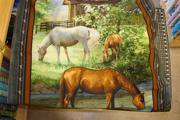 SC Real Animal Sweetwater Horse Panel