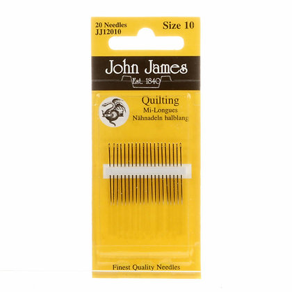 John James Between / Quilting Needles Size 10 20ct # JJ120-10