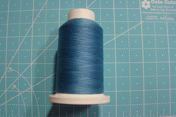 Cairo-Quilt Cotton Thread Mini Spool Hawaiian Blue 30284