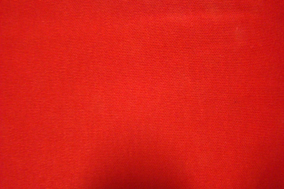 Knit Interlock Red Poly Cotton