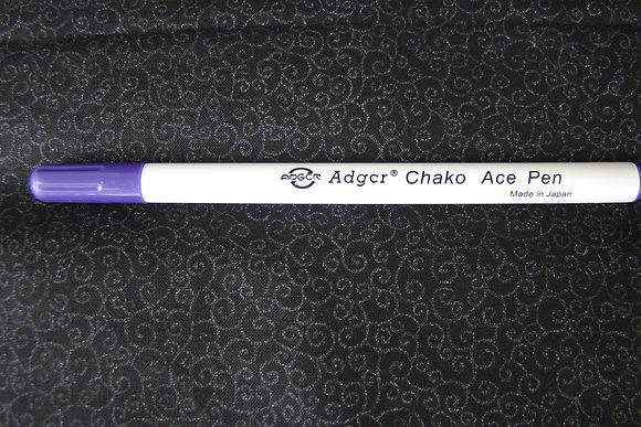 Purple Water Soluble Erasable Marking Pen
