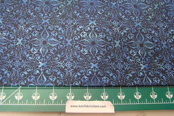SC KW Feathered Beauty Filigree Navy