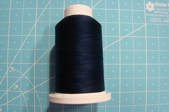 Cairo-Quilt Cotton Thread Mini Spool Navy 32965