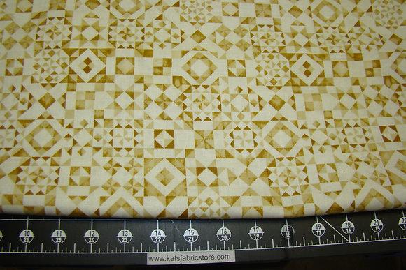 QT Seamless Quilt Blocks Cream