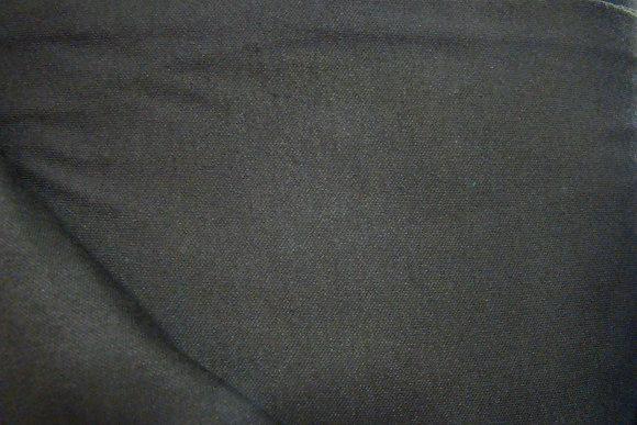 Knit Interlock Black Poly Cotton