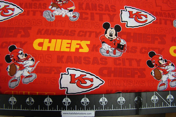 Kansas City Chiefs Mickey Mouse
