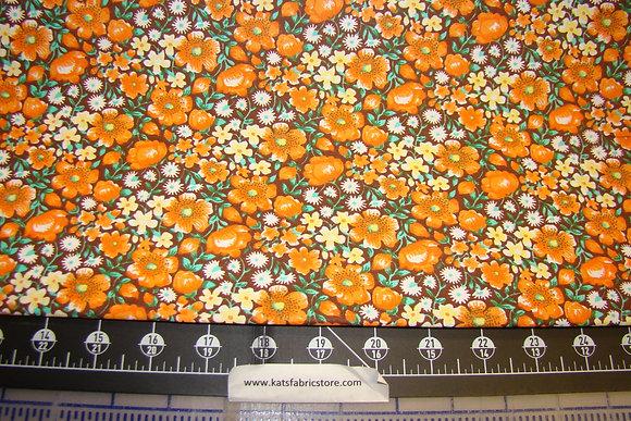 Quilter Calicos 349 Orange