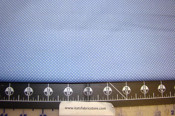 BX Pin Dot Light Blue/White