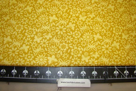 MM Little DeeDa Floral Yellow