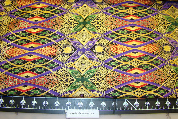 BX Piece Joy Cathedral Windows Purple Metallic