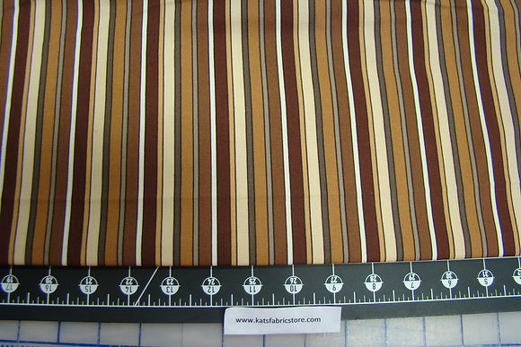 Mixed Medley Brown Stripe