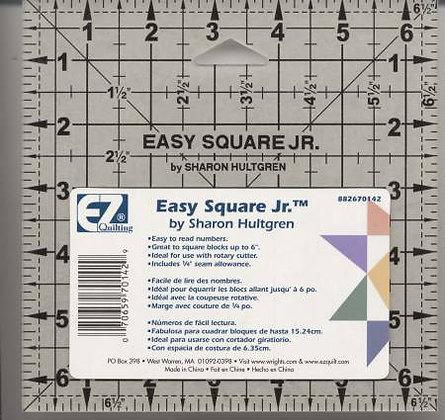 Easy Square Jr. Ruler 6-1/2in x 6-1/2in # 882670142