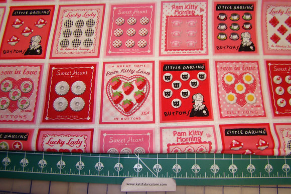 Lake House Valentine Buttons