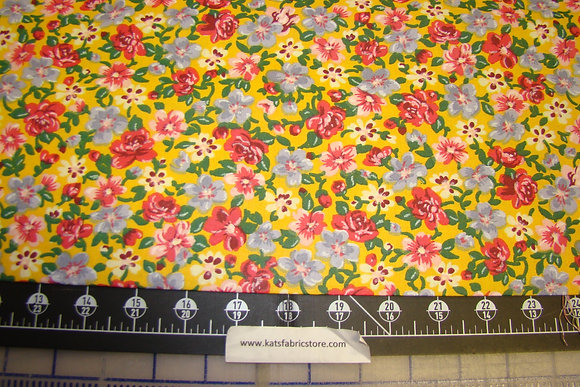 Quilter Calicos 278 Yellow