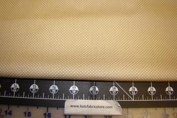BX Pin Dot Light Khaki/White