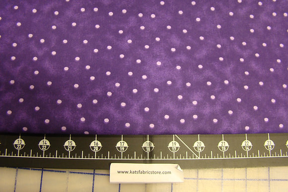 "108"" Dots Purple A13"
