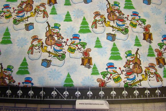 Christmas Snowman Music