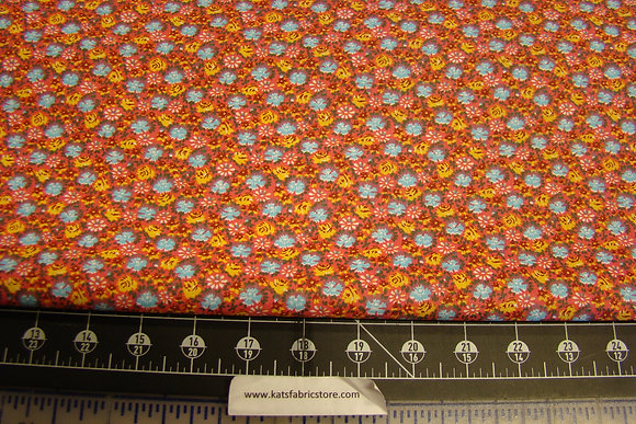 Quilter Calicos 272 Red