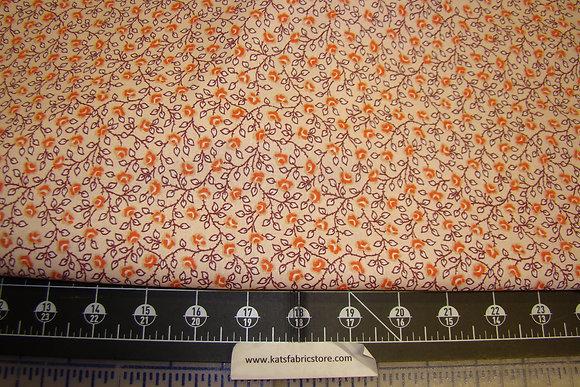 Quilter Calicos 234 Orange