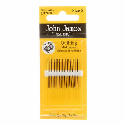 John James Between / Quilting Needles Size 8 20ct # JJ120-08