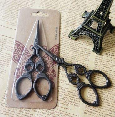 Vintage Look Antique Embroidery Scissors #2