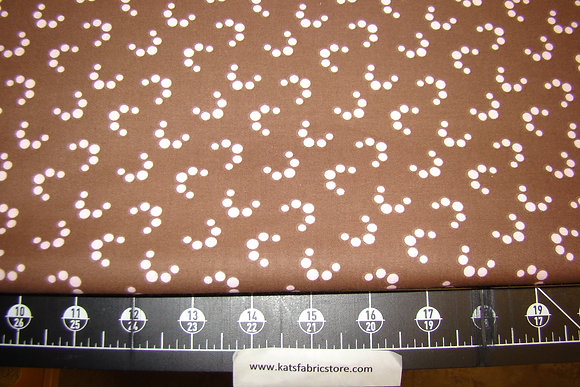 Fabric Arts Mocha Pop 250 Pink on Brown