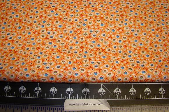 Quilter Calicos 299 Orange