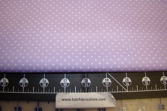 BX Ditsy White Dots on Violet