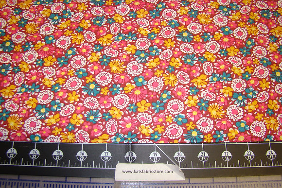 Quilter Calicos 322 Pink