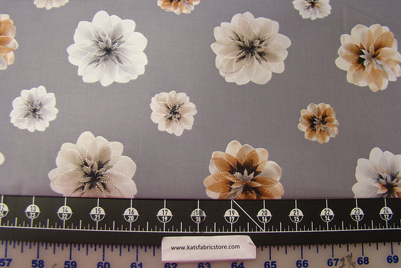 BX Essence of Pearl Floating Blossoms Gray