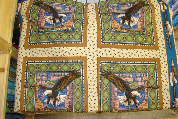 Sacred Wings Pillow Panel