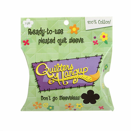 Quilters Hangup Ready Made Sleeve Black # QH300B
