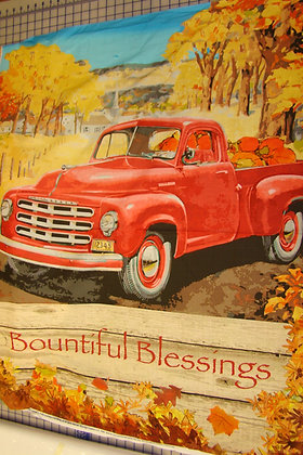 SC Red Truck Blessing Panel