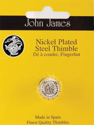 John James Dome Top Thimble Nickel Medium