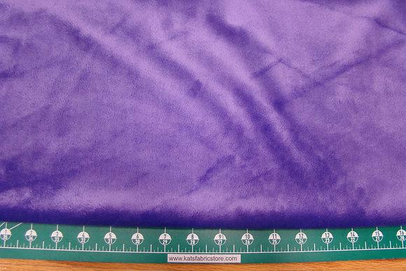 Snuggle Smooth Velour Minky Purple