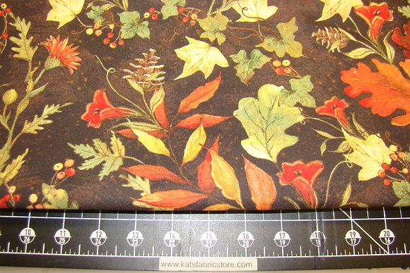 Harvest Fall Foliage CP66921 Brown